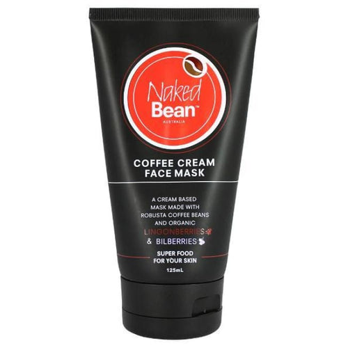 Naked Bean Coffee Cream Face Mask - Mask