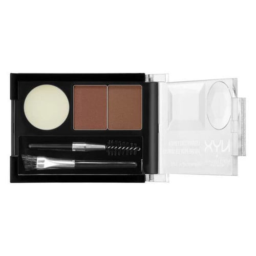 Nyx Eyebrow Cake Powder - Auburn/Red - Brow Palette