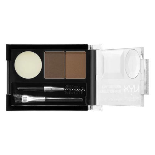 Nyx Eyebrow Cake Powder - Brunette - Brow Palette