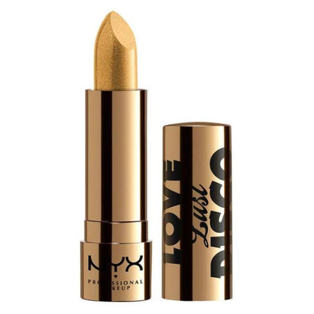 Nyx Love Lust Disco Metallic Lip Topper - Gold Dipper
