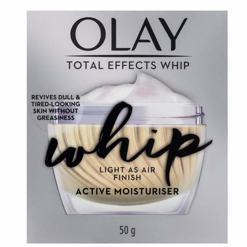 Olay Total Effects Whip Active Moisturiser 50g - Face Moisturiser