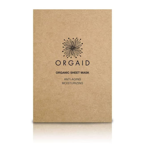 Orgaid Organic Sheet Mask - Anti-Aging & Moisturizing - Mask