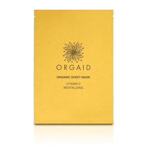 Orgaid Organic Sheet Mask - Vitamin C & Revitalizing - Mask