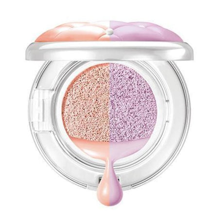 Physicians Formula Mineral Wear Talc-Free Cushion Corrector + Primer Duo - Peach/Lavender