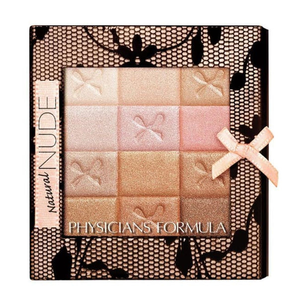 Physicians Formula Shimmer Strips All-In-1 Custom Nude Palette For Face and Eyes - Natural Nude - Palette