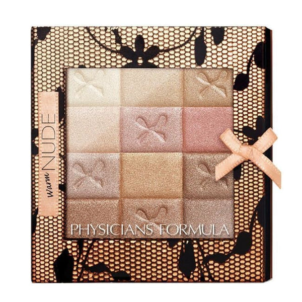Physicians Formula Shimmer Strips All-In-1 Custom Nude Palette For Face and Eyes - Warm Nude - Palette