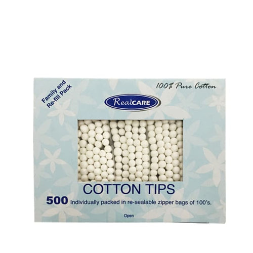 RealCare Cotton Tips - Cotton Tips