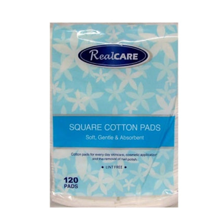 RealCare Square Cotton Pads