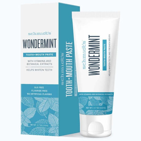 Schmidt's Tooth + Mouth Paste - Wondermint