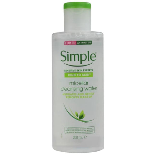 Simple Micellar Cleansing Water - Cleanser