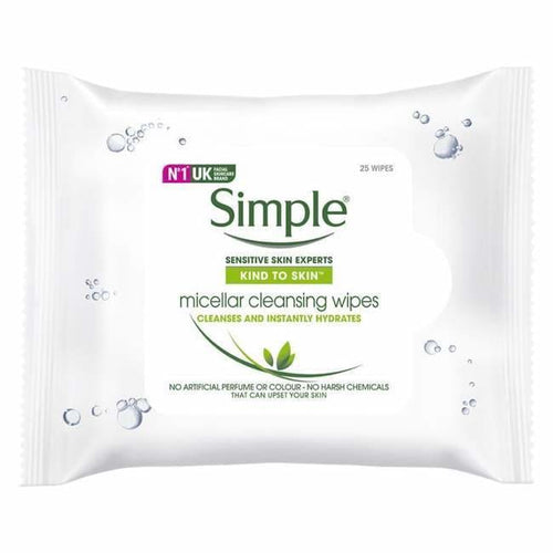 Simple Micellar Cleansing Wipes - Face Wipes