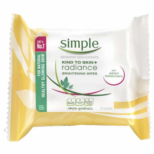 Simple Radiance Brightening Wipes - Face Wipes