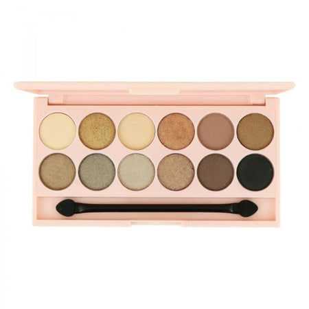 STYLondon 12 Shade Multi Finish Eyeshadow Palette - Bond