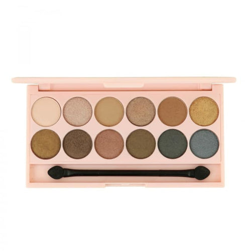 STYLondon 12 Shade Multi Finish Eyeshadow Palette - Carnaby - Eyeshadow