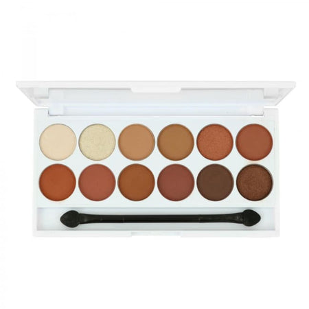 STYLondon 12 Shade Multi Finish Eyeshadow Palette - Piccadilly