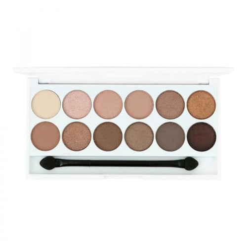 STYLondon 12 Shades Multi Finish Eyeshadow Palette - Sloane - Eyeshadow