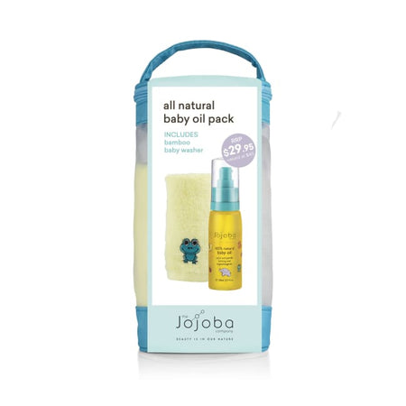 The Jojoba Company All Natural Baby Oil Pack