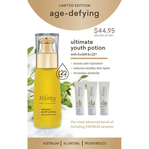 The Jojoba Company Limited Edition Age-Defying Pack - Oil