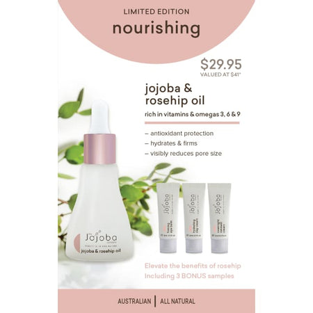 The Jojoba Company Limited Edition Nourishing Pack