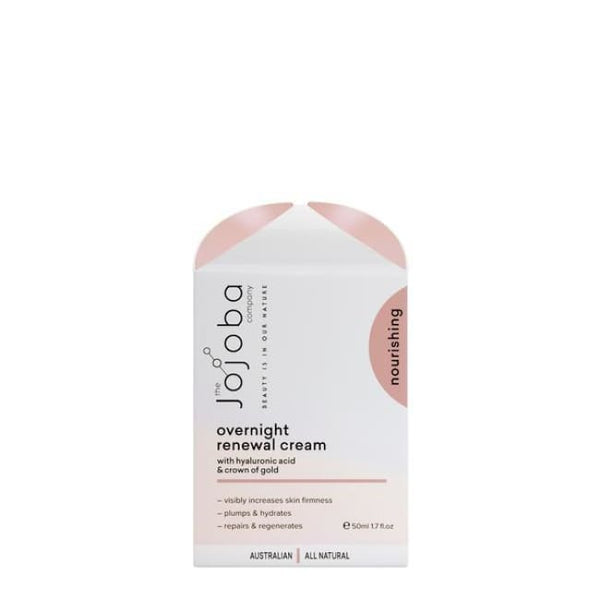 The Jojoba Company Overnight Renewal Cream - Night Cream
