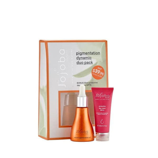 The Jojoba Company Pigmentation Dynamic Duo Pack - Limited Edition - Pack