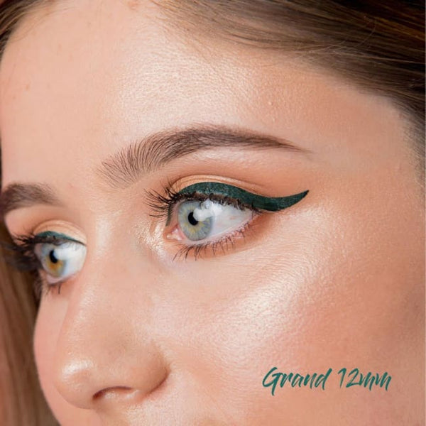 The Quick Flick Green Envy Grand - 12mm - Eye Liner