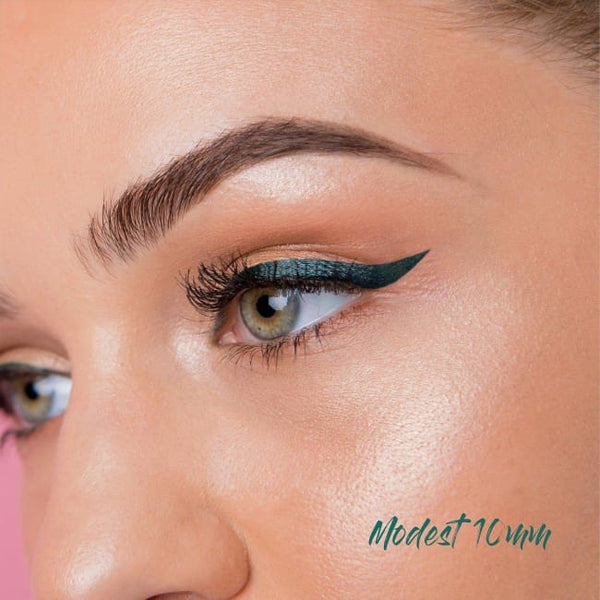 The Quick Flick Green Envy Modest - 10mm - Eye Liner