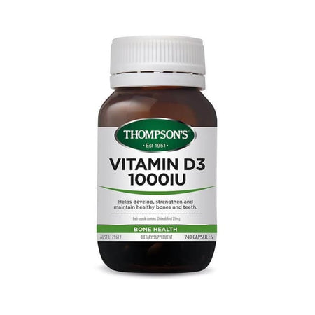 Thompson's Vitamin D3 1000IU