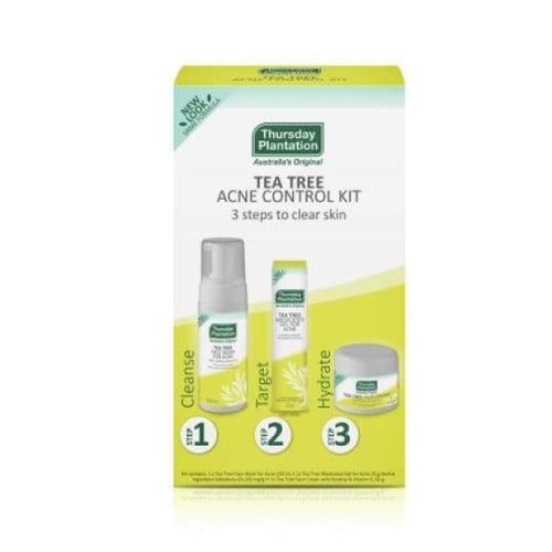 Thursday Plantation Tea Tree Acne Control Kit - Pack