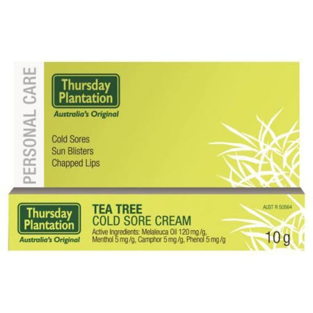 Thursday Plantation Tea Tree Cold Sore Cream