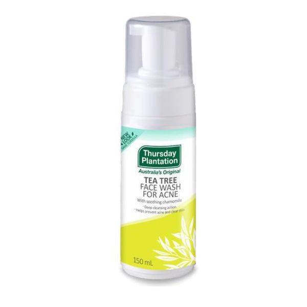 Thursday Plantation Tea Tree Face Wash For Acne - Cleanser