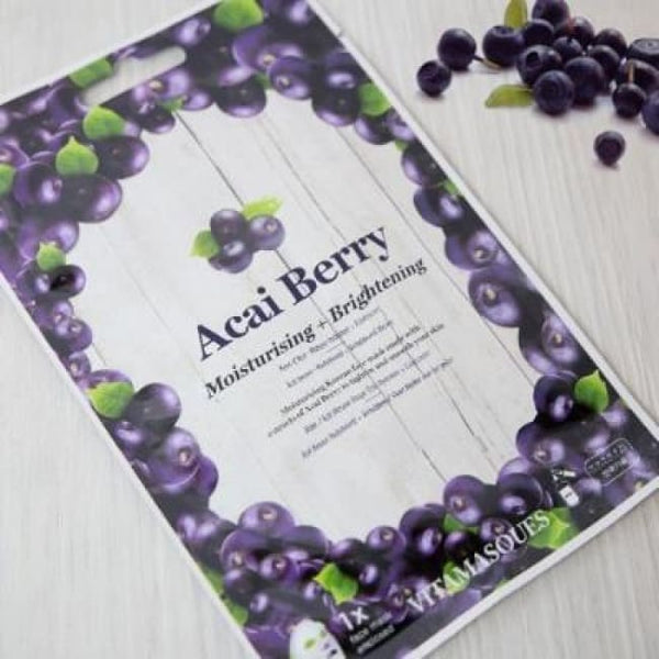 VITAMASQUES Acai Berry Sheet Mask - Mask