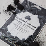 VITAMASQUES Bamboo Charcoal Sheet Mask - Mask