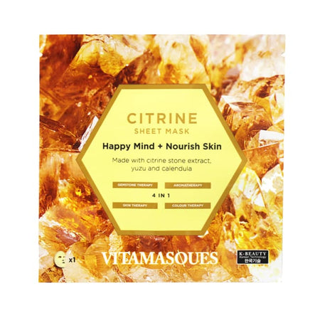 VITAMASQUES Citrine Face Mask