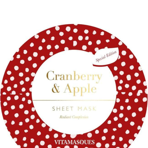 VITAMASQUES Cranberry & Apple Sheet Mask - Mask