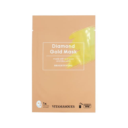 VITAMASQUES Diamond Gold Sheet Mask - Mask