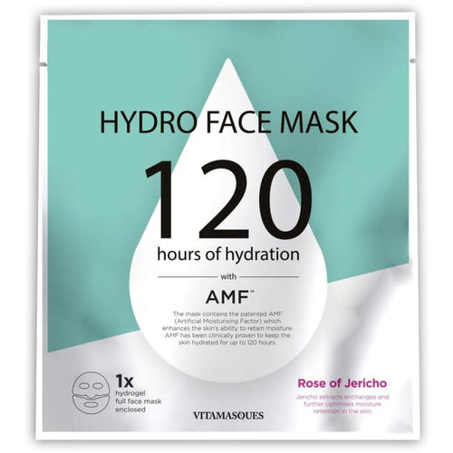 VITAMASQUES Hydro Face Mask - Rose of Jericho - Mask