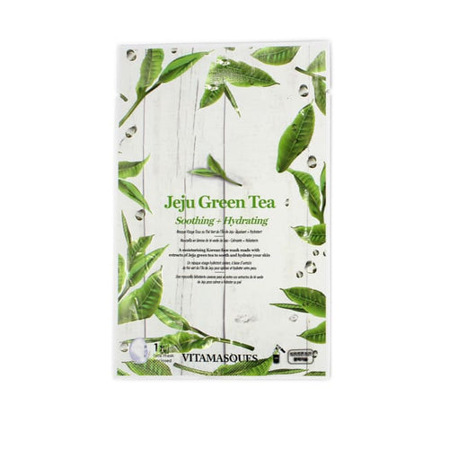 VITAMASQUES Jeju Green Tea Mask - Mask