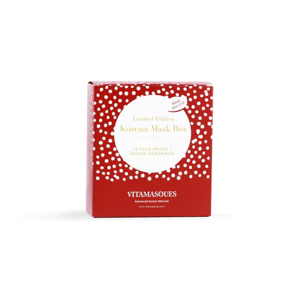 VITAMASQUES Korean Face Mask Box - Limited Edition - Mask Pack