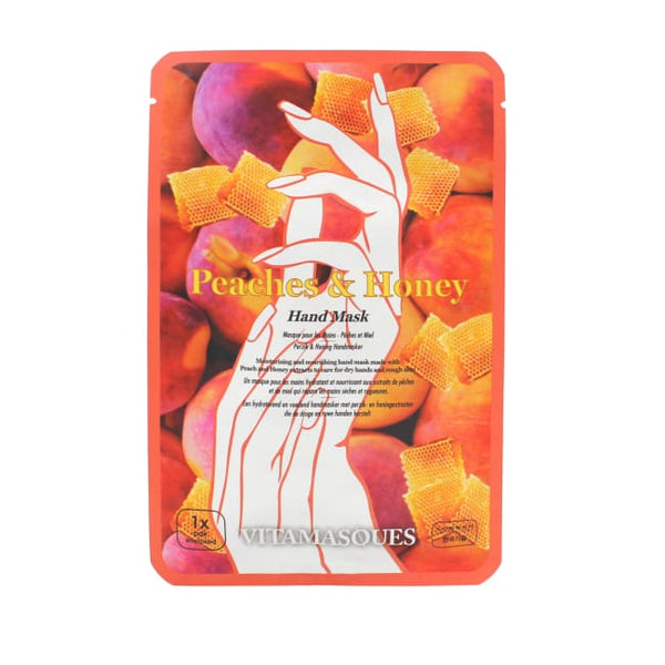 VITAMASQUES Peach & Honey Hand Mask - Mask