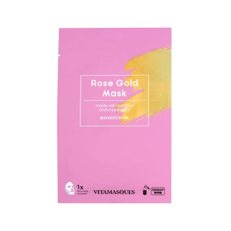 VITAMASQUES Rose Gold Sheet Mask