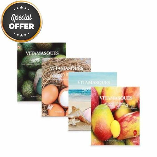 VITAMASQUES Sleep in Collection Bundle - Mask Pack