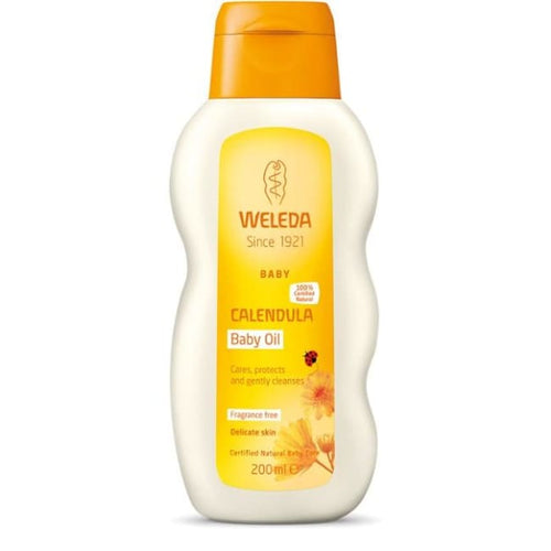 Weleda Calendula Baby Oil - Fragrance Free - Oil