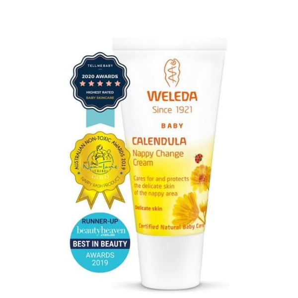Weleda Calendula Nappy Change Cream 30ml - Nappy Change Cream