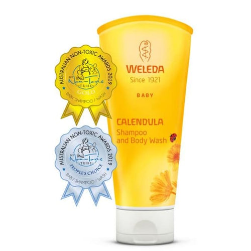Weleda Calendula Shampoo and Body Wash - Body Wash