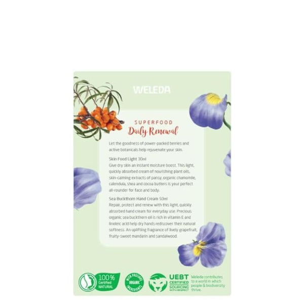 Weleda Superfood Daily Renewal - Pack