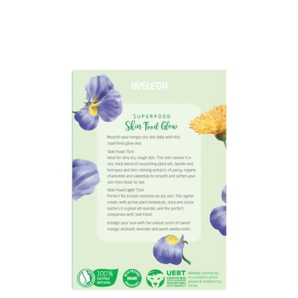 Weleda Superfood Skin Food Glow - Pack