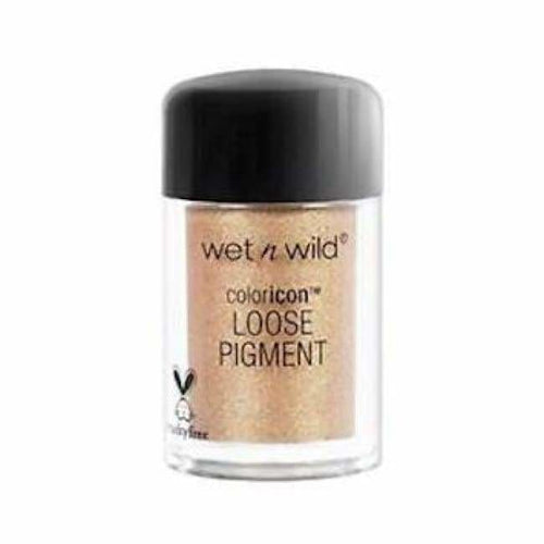 Wet n Wild Color Icon Loose Pigment - Heart Of Rose Gold Gift - Eyeshadow