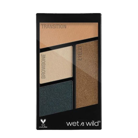 Wet n Wild Color Icon Quad Eyeshadow Palette - Hooked on Vinyl