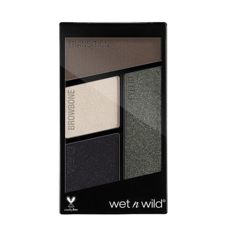Wet n Wild Color Icon Quad Eyeshadow Palette - Lights Out